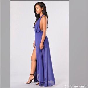 018d1a80e577 Fashion Nova Dresses - FASHION NOVA Easy flow dress romper - purple